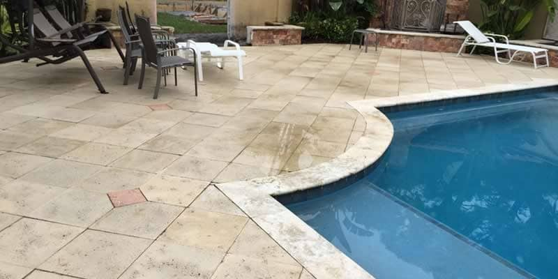 Pool Paving Pressure Cleaning