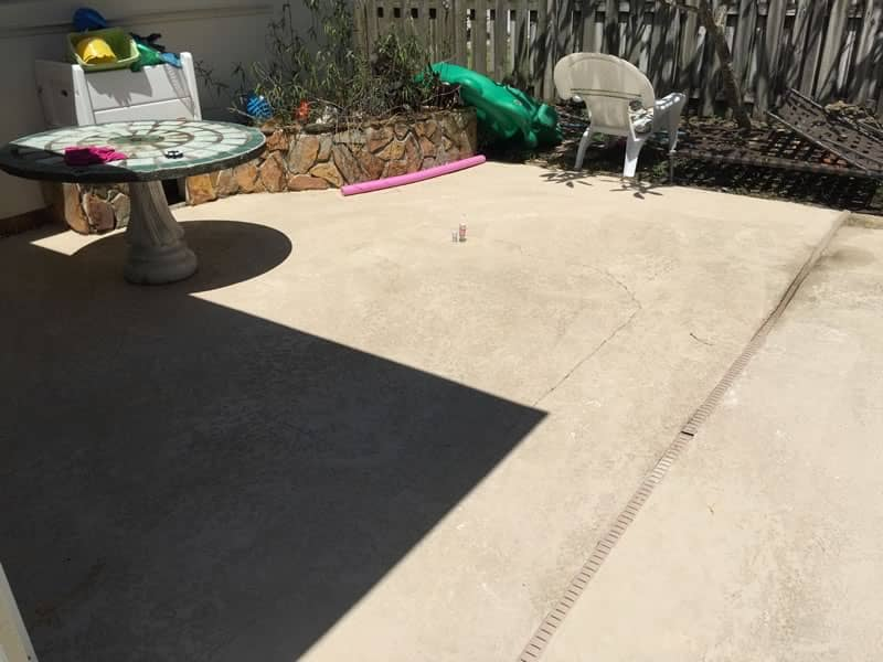 Concrete Pressure Cleaning