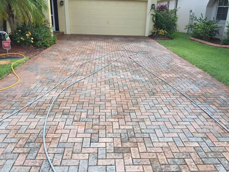 Driveway Pressure Cleaning